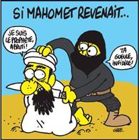 Mahomet de retour sur terre